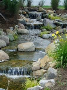 pond waterfall pictures