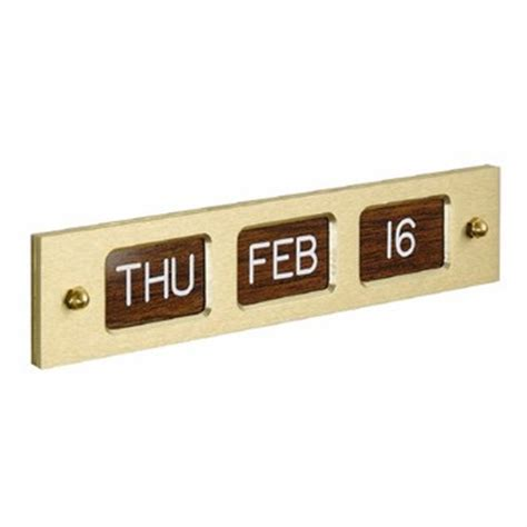 Low Cost Perpetual Calendar Single Faced Perpetual Calendar For Wall Mounting