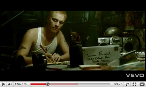 eminem stan a2 music video blog by anhan le research into music videos