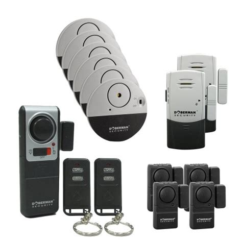 doberman security alarm home and office security kit