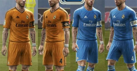 pes modif download kit away arsenal 201314 by adrian18 pes modif download real madrid away third kits 13 14 by srt