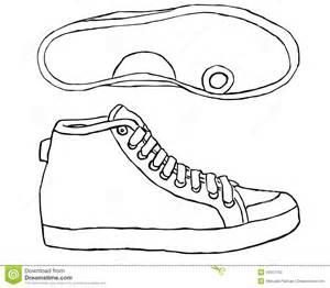 zapato tenis en un fondo blanco ilustraci 243 n del vector