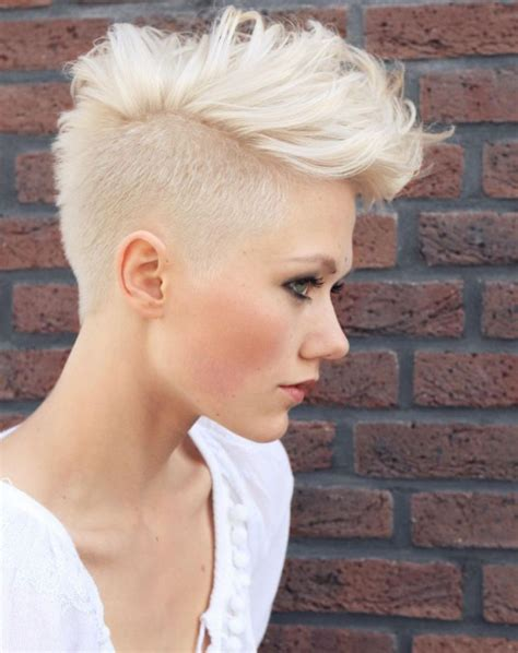 platinum blonde mohawk 1000 images about hair oh hair are you tonight on