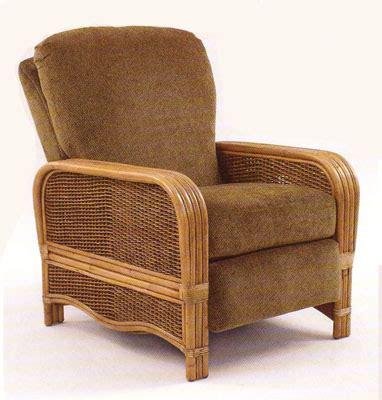Wicker Recliner by Wicker Recliners Swivel Rocking Chairs