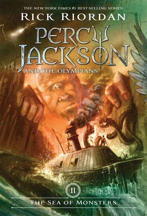 percy jackson book pictures rick riordan the sea of monsters