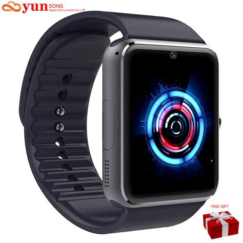 clocks for android phone smartwatch bluetooth smart wristwatch for apple iphone ios android phone intelligent clock