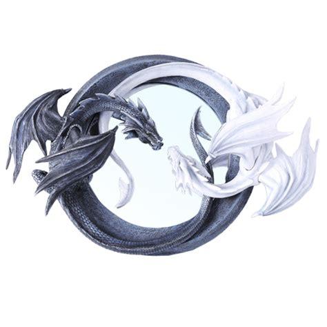 Wall Art Ideas For Kitchen by Yin Yang Dragon Mirror Dragon Gifts Fairyglen Com