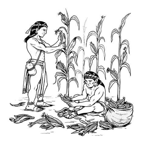 imagenes mayas para colorear dibujos sobre culturas 174 para colorear e imprimir