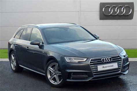 Audi A4 Avant Quattro S Line by Used 2017 Audi A4 Avant Tdi Quattro S Line For Sale In