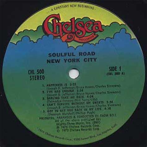 New York City Records New York City Soulful Road Lp Chelsea 中古レコード通販 大阪 Root