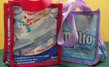 Esther Sabun Kemasan Tas Cantik cara membuat tas dari limbah plastik bekas energic