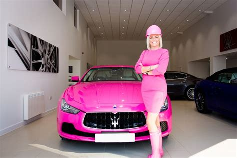 maserati pink this woman owns the first pink maserati in the uk and it