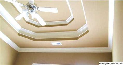 How To Make A Tray Ceiling With Crown Molding Notice The Detailed Tray Ceiling And All The Crown
