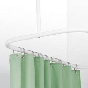 shower curtain hoop com zenna home 34941bn neverrust aluminum hoop