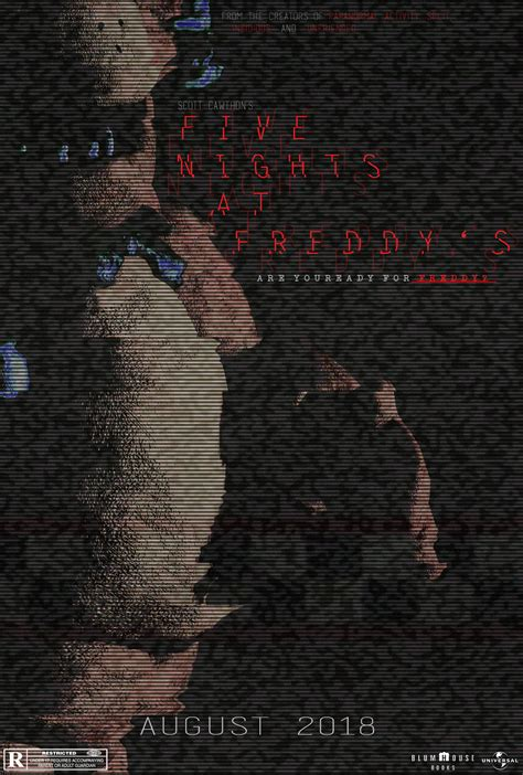 five nights at freddy s fan fan made five nights at freddy s poster