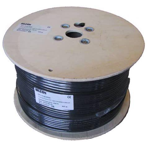 Kabel Coaxial Rg6 Belden 1 cablu coaxial 75ohm seria f660 belden rg6 pvc 9116e cablu coaxial 75ohm de inalta calitate
