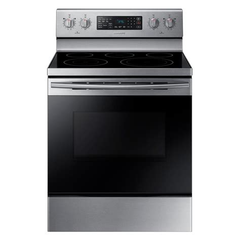 Samsung Oven Samsung 30 In 5 9 Cu Ft Single Oven Electric Range With Self Cleaning And Convection Oven In