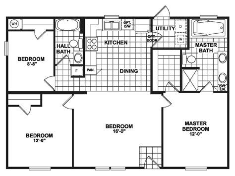 small double wide mobile home floor plans doublewide mobile homes from clh commercial