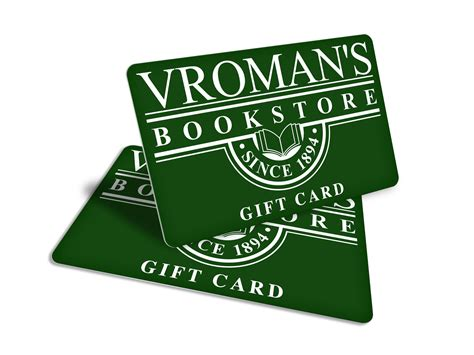 bookstore business cards choice image card design and card template - Vromans Gift Card