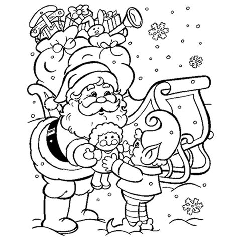 santa claus is coming to town coloring pages 28 images
