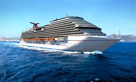 new carnival breeze to debut sushi restaurant outdoor bbq