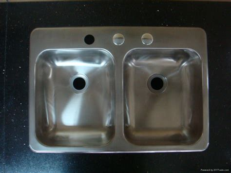 rv stainless steel kitchen sink equal bowl stainless steel sink for rv hs ssd2517