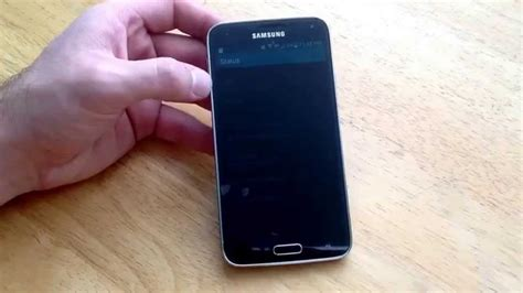 samsung galaxy s5 how to check the esn imei number