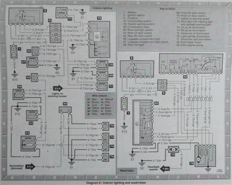 mercedes w124 wiring diagram 28 images w124 wiring