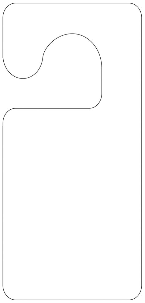 free door hanger templates door hanger template cyberuse