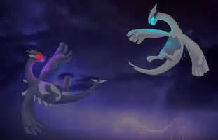 Lugia vs shadow lugia by exicco on deviantart