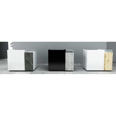 comptoir design personnalisable fonctionnel avec vitrine