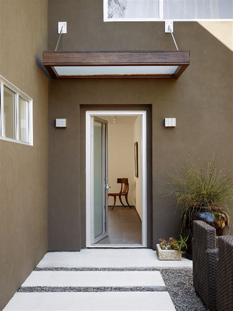 exterior door awning front entry canopy contemporary exterior san