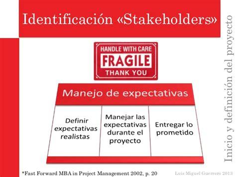 Mba Significado by Inicio Y Definici 243 N Proyecto Gerencia De Proyectos