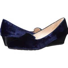 Popok Tali Velvet Junior cole haan tali luxe slipper wedge blazer blue velvet 6pm