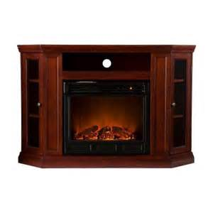tv stand with fireplace home depot southern enterprises claremont 48 in convertible media