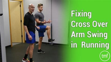 arm crossover swings fixing cross over arm swing in running the movement fix
