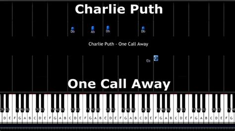 free download mp3 charlie puth call me away partition piano one call away