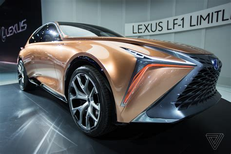 lexus lf  limitless concept   futuristic rose gold stunner  verge
