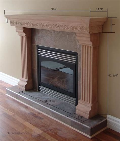 Fireplace Mantel Proportions by Fireplace Mantel 15 With Dimensions Cast