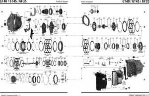 general motorsfwd 6t40 6t45 transmission parts