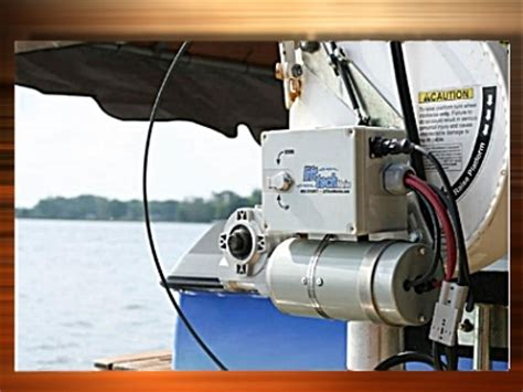 boat lift motors 12 volt dc boat lift motor with key and pendant operation