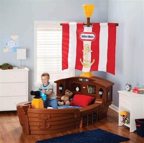 little tikes pirate ship toddler bed boys pirate ship bed toddler bedroom furniture kids