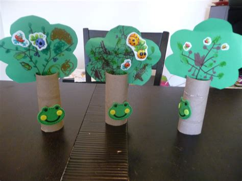 Paper Crafts For 3 Year Olds - playdate crafts ideas more toilet paper roll trees
