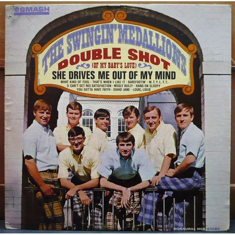 the swinging medallions double shot by the swingin medallions lp with vinyloffice