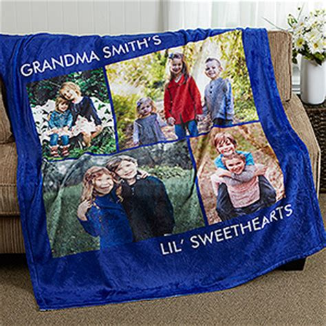 Custom Blankets With Words by Picture Personalized Fleece Photo Blankets 4
