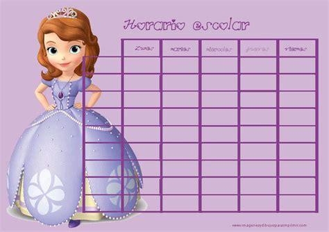 horario de clases para imprimir horarios escolares para imprimir para ni 241 as imagenes y