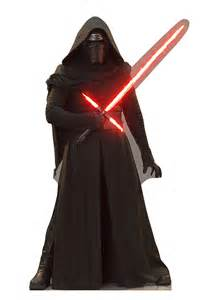 star wars force awakens kylo ren standup cutout