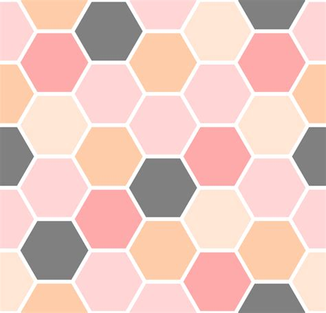 seamless hexagon pattern hexagon pattern seamless vector set 02 vector pattern