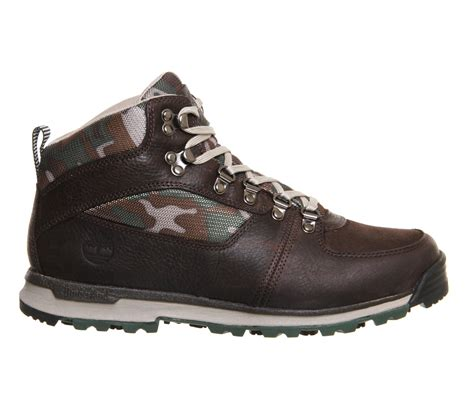 boots for timberland scramble mid boots in brown for lyst