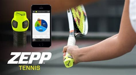 Review Zepp Tennis Swing Analyzer Gadgets Wearables